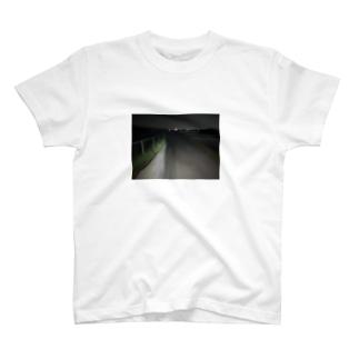 新井康介の深夜徘徊フォト T-shirts