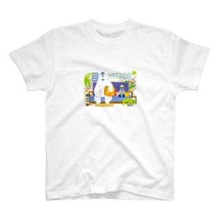 potofuのMY FRIEND T-shirts
