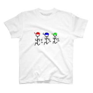 走るくん T-shirts