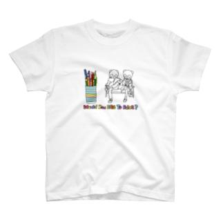 nobulocoの兄妹パンダ T-shirts