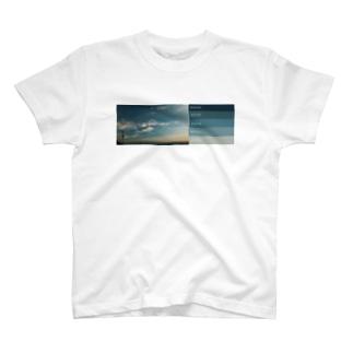 描く撮るの夕焼けカラーパレット1 T-shirts