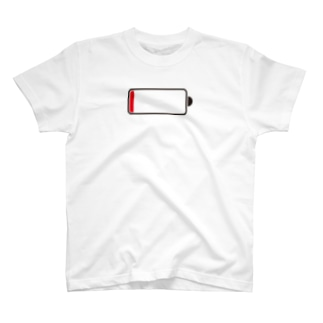 out of battery T-shirts