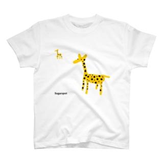 シュガースポットきりん T-shirts