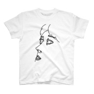angry line T-shirts