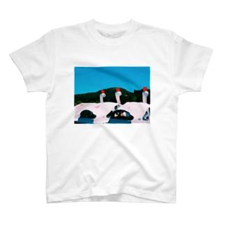 スワン T-shirts
