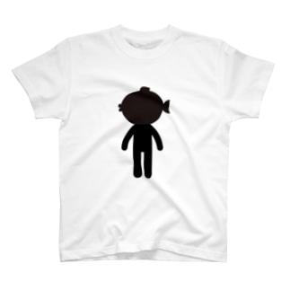 河豚ノ背中ロゴ T-shirts