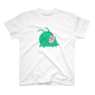 うちゅうのなかまネッシーもどき T-shirts
