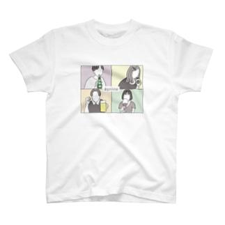 オンライン飲み会 T-shirts