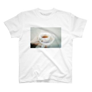カステラの3 times coffee T-shirts