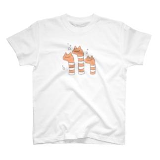 ねこあなご T-shirts