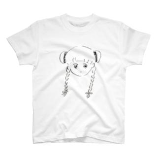 みつあみだんごちゃん T-shirts
