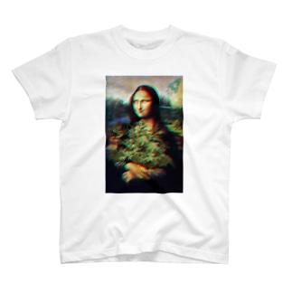【GoodTrip】 ブリブリモナリザ Tシャツ T-shirts