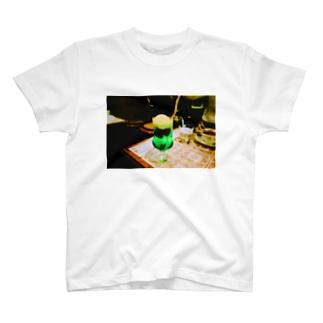 レトロクリームソーダ T-shirts