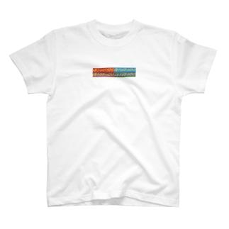 ABUNAI FUSERO.block T-shirts