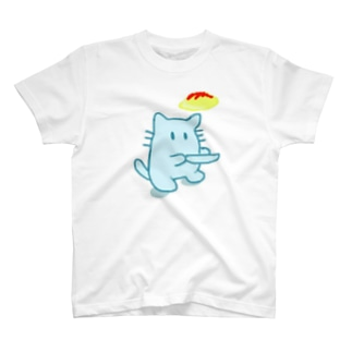 ねことおむらいすしゃつ T-shirts