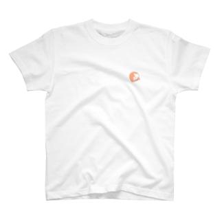まんまる茶白ねこ T-shirts