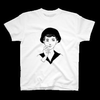 camの悩む T-shirts