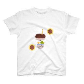 あひるちゃんコーヒー T-shirts