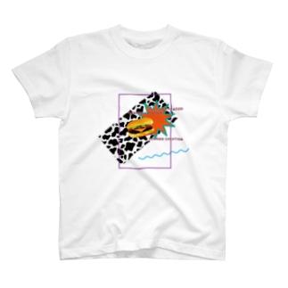 ブンカセンターの【FRONT・ハンバーガー】サマーバケーション T-shirts