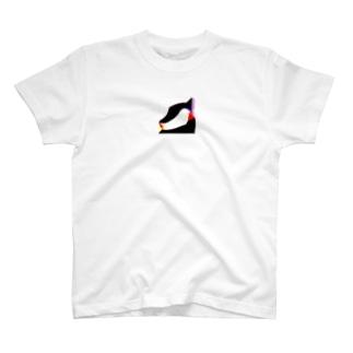 自信一杯のlady T-shirts