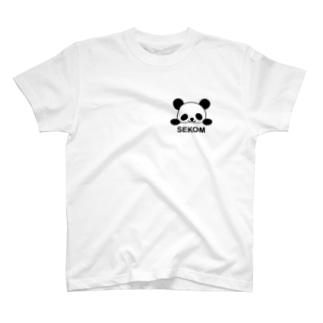 ぱんだせこむ T-shirts