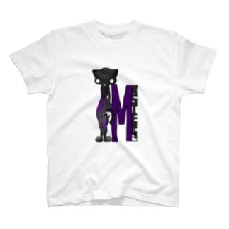 猫系MASTERさん T-shirts