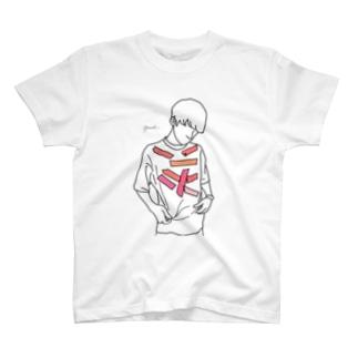 【レッテル red】 T-shirts