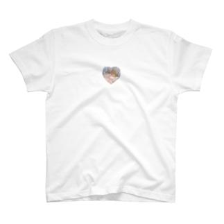 FREEのクリスタルハート T-shirts