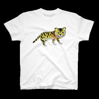 キムラトモミのトラ君 T-shirts