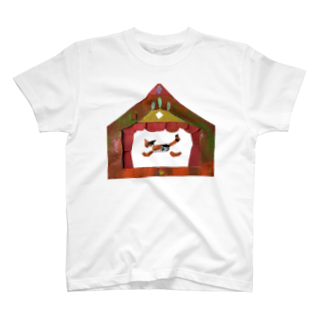 キムラトモミのみけねこシアター T-shirts