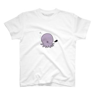 タコちゃん 紫色 T-shirts