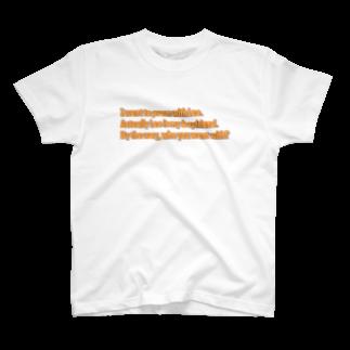 h-sのMy boyfriend is... T-shirts