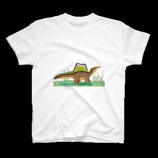 Dinoのスピノサウルス のピノ T-shirts
