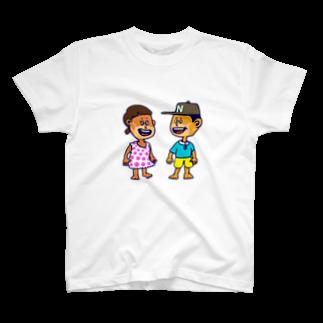 shota1202の2020年夏のサマーキッズたち T-shirts