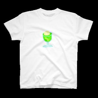 hibikataru.の夏が待ちきれなさソーダ T-shirts