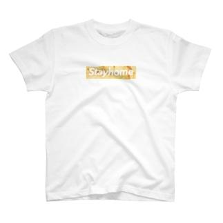 Box Logo Tee × Potatochips T-shirts