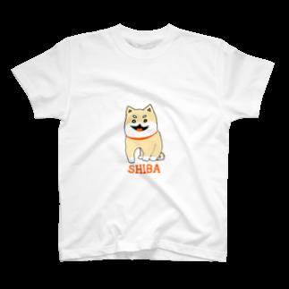 Hijiki__のSHIBA T-shirts