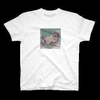 天ぷら100円(税抜き)のバグ女の子 T-shirts