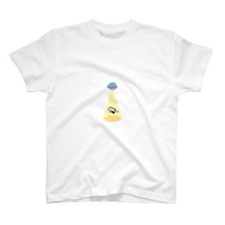 キャトられうしさん T-shirts