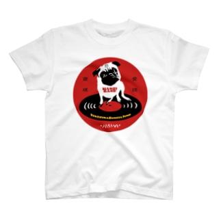 HANZI BAND×ハンサムレコードロゴ T-shirts