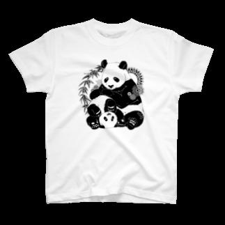TaekoのPANDA T-shirts