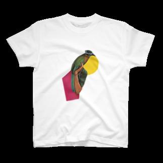 trolligummi33の女性と鳥 T-shirts