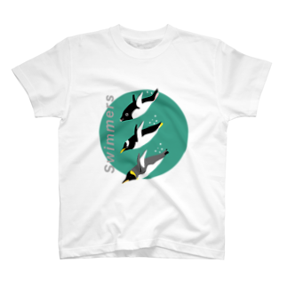 CNAPのSwimmers green T-shirts