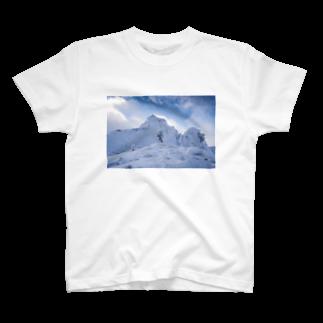 ZIKKYの冬の宝剣岳1 T-shirts