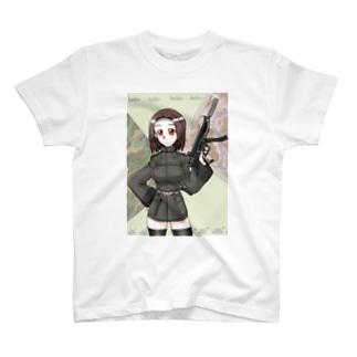 軍人の娘さん T-shirts