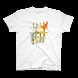 AHDのAHD[格子] T-shirts