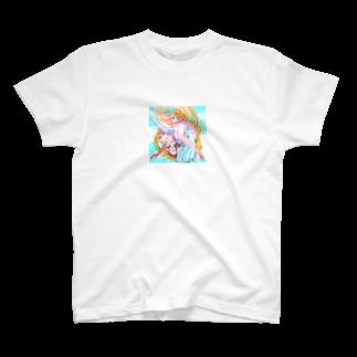 あたりやもややんの一つ羽の天使 T-shirts