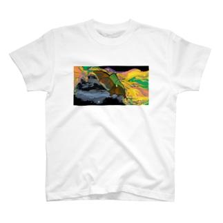 フルーツコウモリ T-shirts