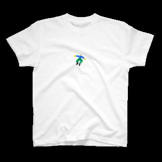 わやたにの男の子ひゅーん T-shirts