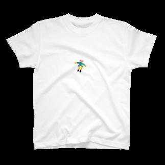 わやたにの女の子ひゅーん T-shirts